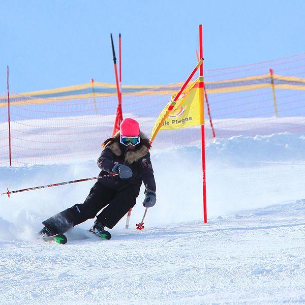 Activité incentives à La Plagne  : Compétition & Slalom