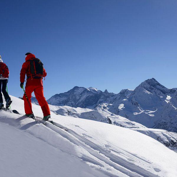 Activité incentives à La Plagne  : Randonnée en skis