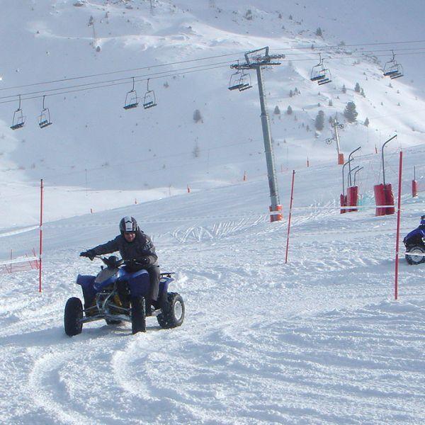 Activité incentives à La Plagne  : Quad sur neige