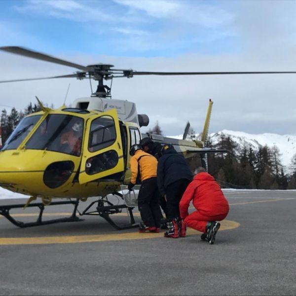 Activité incentives à La Plagne  : Vol en Hélicoptère